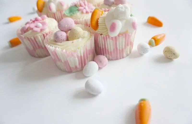 Easter Cup Cakes And Chill Time