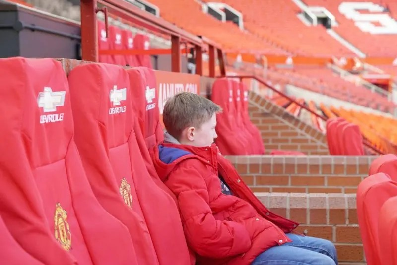 Earning Mum Points On The Manchester United Tour