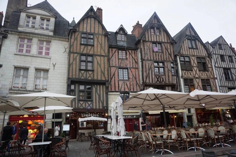 Place Plumereau in Tours, Loire Valley 11