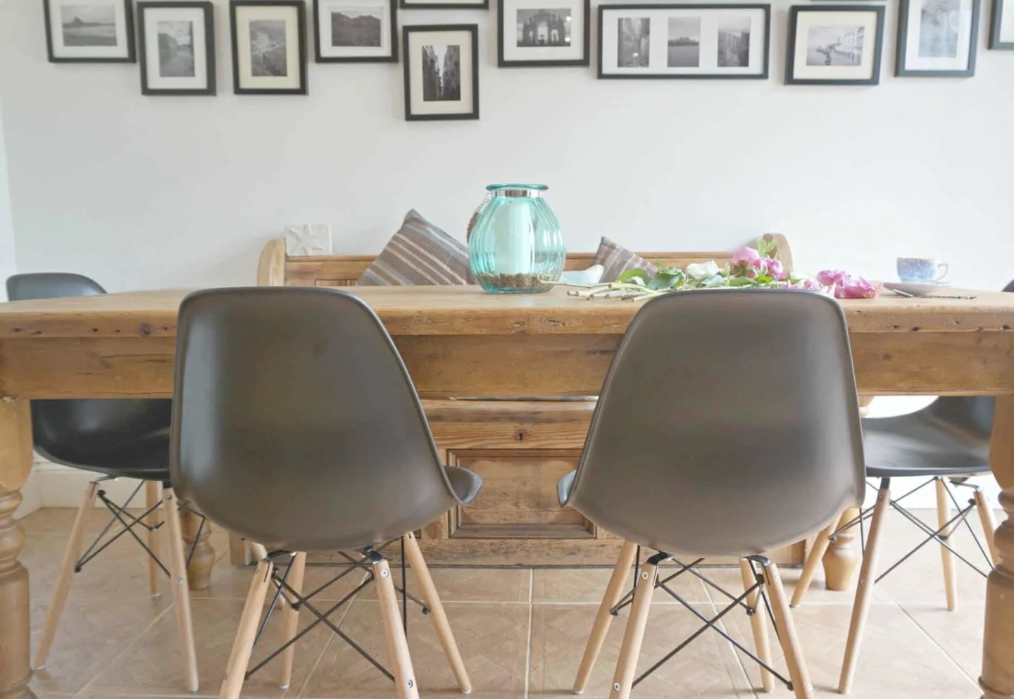 Creating A Vintage Yet Modern Dining Space