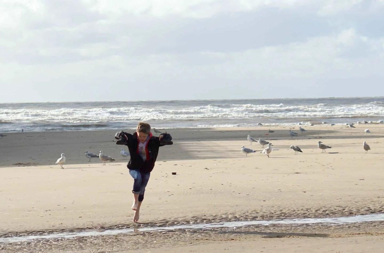 My Sunday Photo, A Walk on A Deserted Beach