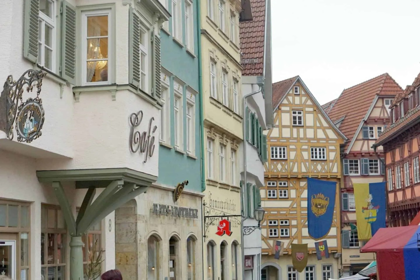 A Walk Around Esslingen In Germany