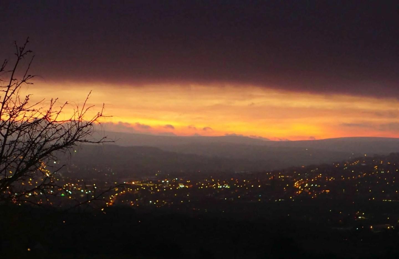 My Sunday Photo And A Fiery Sunrise
