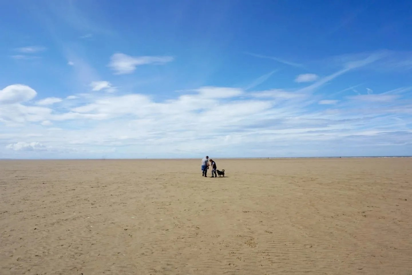 A walk on the beach At St Annes www.extraordinarychaos.com