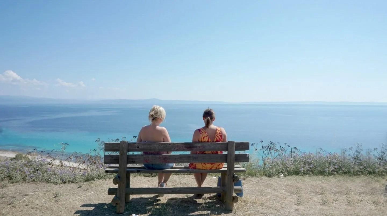 Overlooking the bar in Afitos Halkidiki Greece extraordinarychaos.com