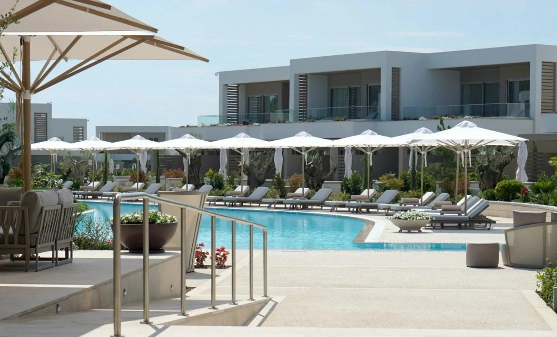 Main pool at Sani Dunes Halkidiki Greece