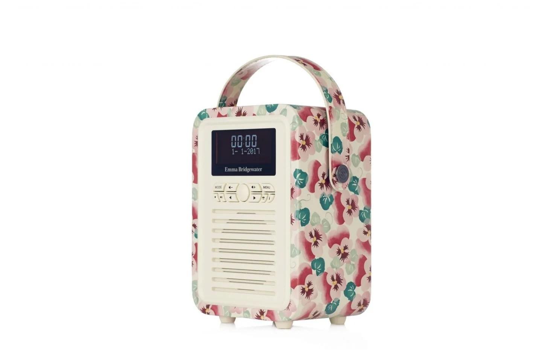 512644 Emma Bridgewater Retro Mini Portable DABFM Radio and Bluetooth Sp...