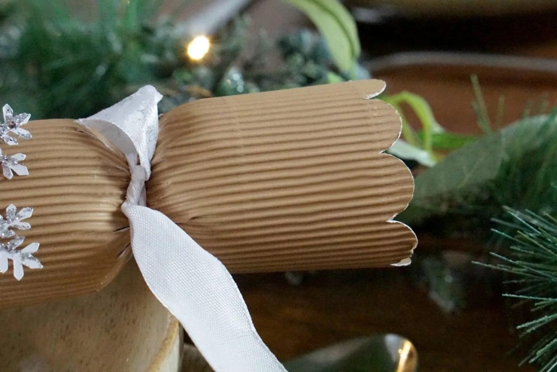 rustic Home Made Christmas Crackers www.extraordinarychaos.com