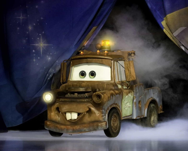 Mater, World of Enchantment, Disney On ICE