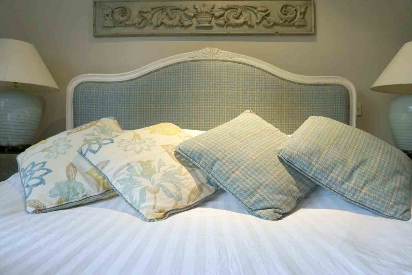 A bedroom at the Spread Eagle At Sawley