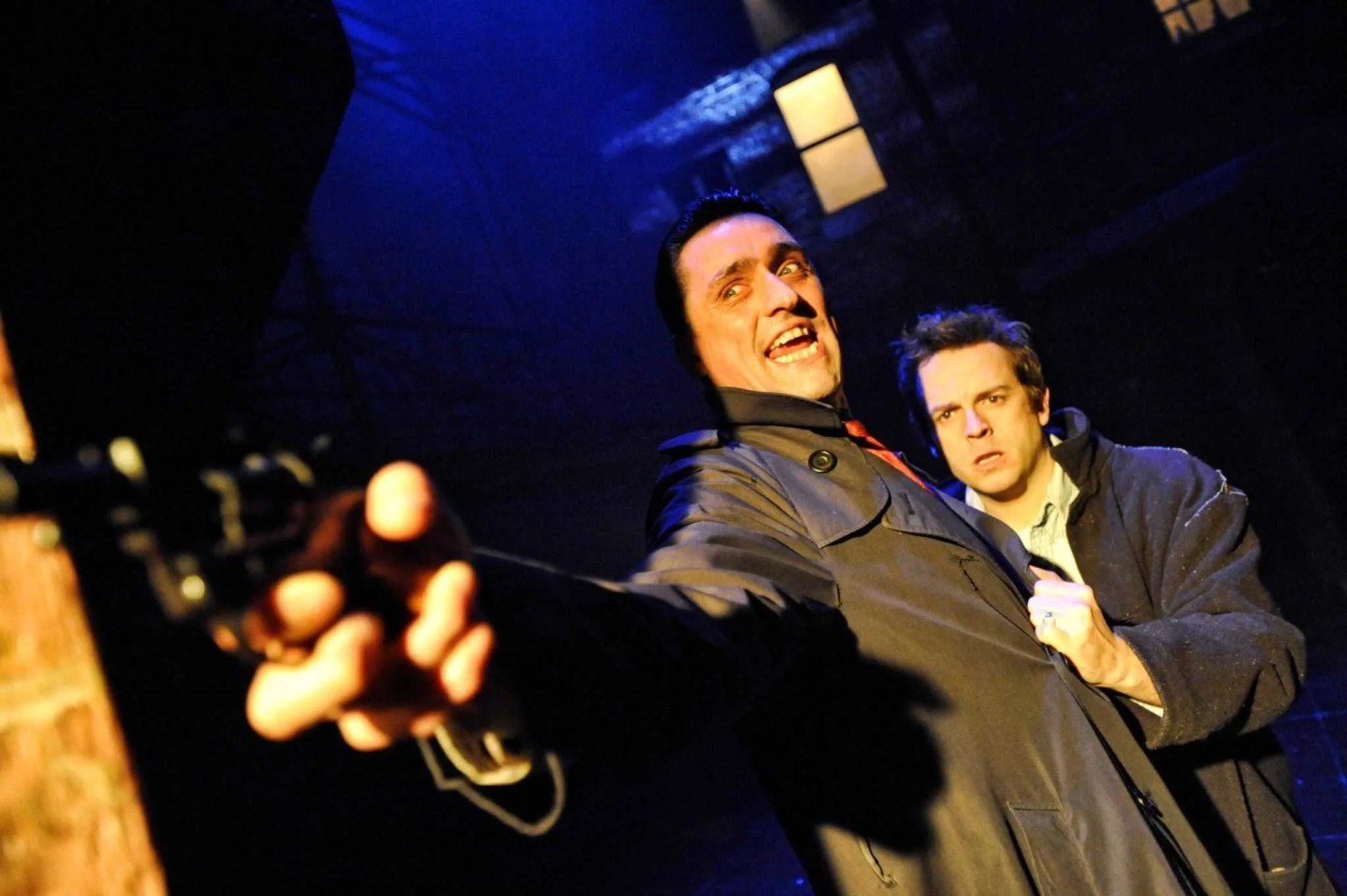 Blood Brothers Danny Taylor as Sammy and Sean Jones as Mickey
