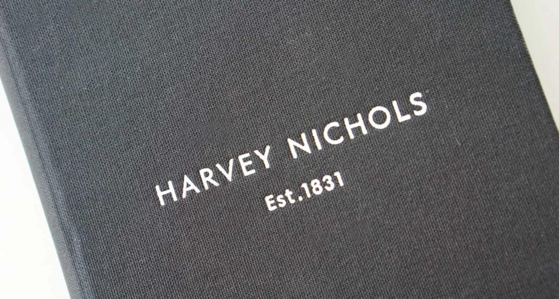 Dinner Menu at Hervey Nichols www.extraordinarychaos.com