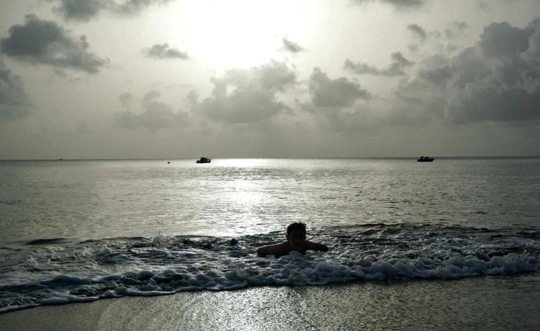 The Beach at Dusk www.extraordinarychaos.com