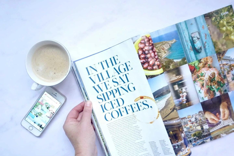 Travel Magazine for inspiration