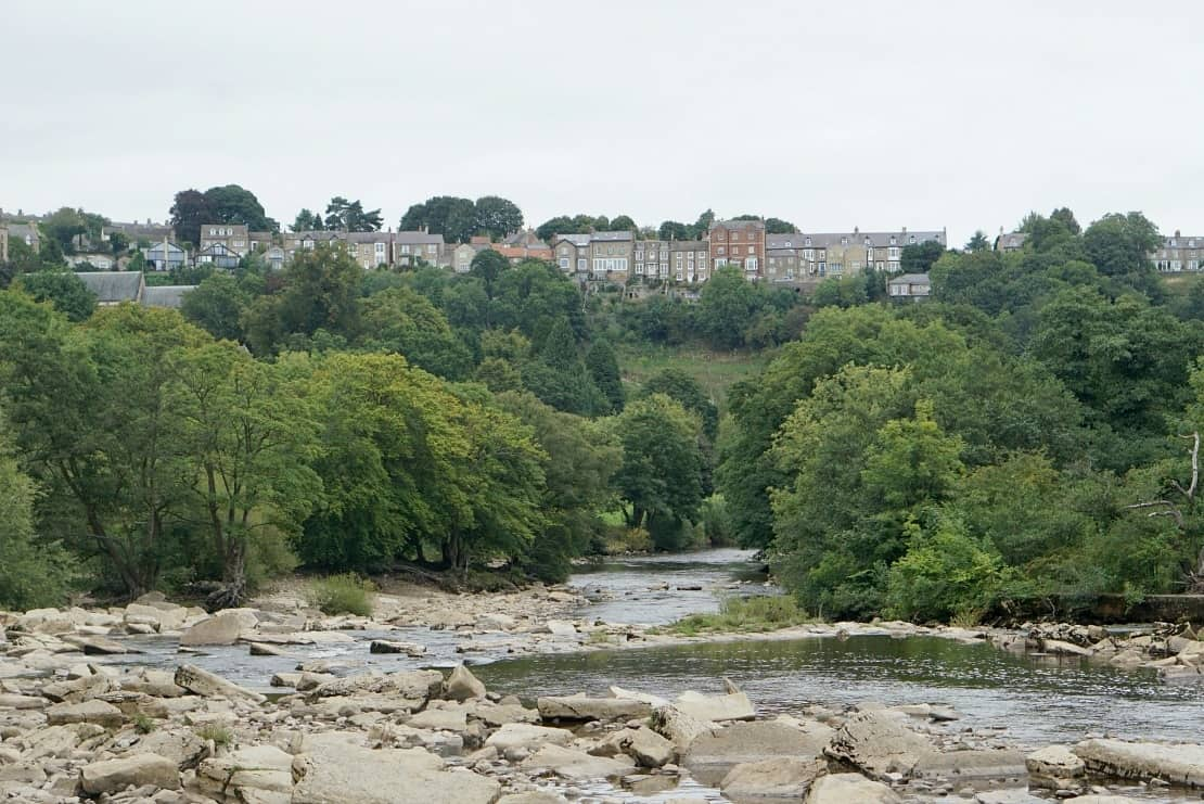 A View of Richmond from the Waterfall www.extraordinarychaos.com