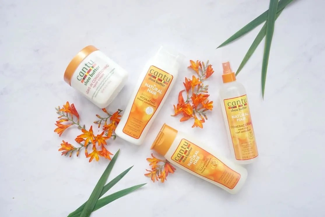 Cantu Products for Uk Curl Girl Method