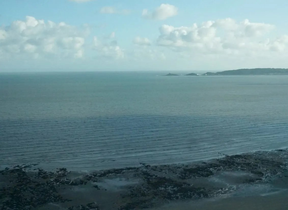 View from the Grape and Olive in Swansea www.extraordinarychoas.com