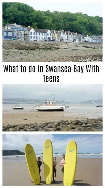 What to do in Swansea Bay, Wales with teenagers, including where to eat, where to visit and some exciting outdoor family adventures