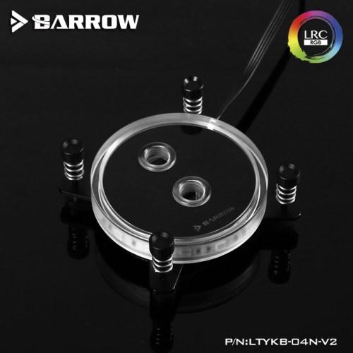 INTEL CPU Water Block Rays Edition Aurora Black