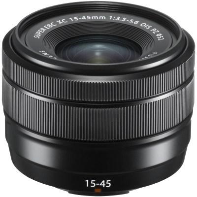 Fujinon XC 15-45mm f/3.5-5.6 OIS PZ objektiiv, must