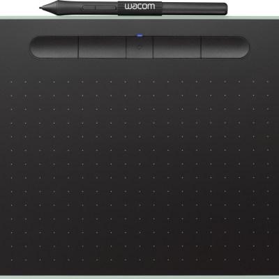 Wacom graafikalaud Intuos M Bluetooth, pistaatsiaroheline