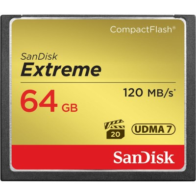 Sandisk mälukaart CF 64GB Extreme 120MB/s