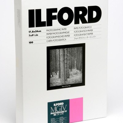 Ilford paber 17,8x24cm MGIV 1M läikiv 100 lehte (1770207)