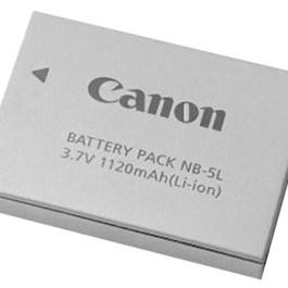 Canon aku NB-5L