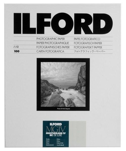 Ilford paber 12,7×17,8cm MGIV 44M pärl 100 lehte (1771019)
