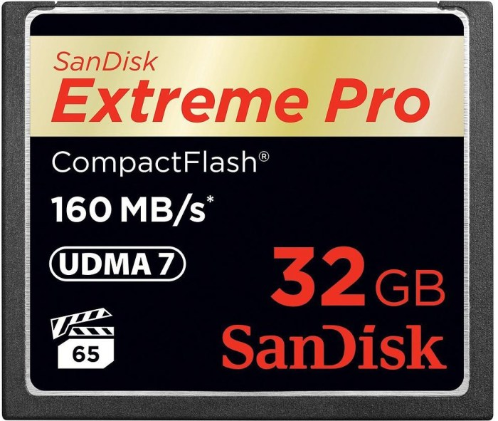 Sandisk mälukaart CF 32GB ExtremePro 160MB/s