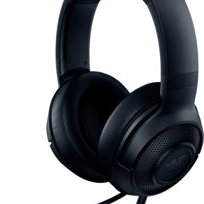 Razer kõrvaklapid + mikrofon Kraken X, must