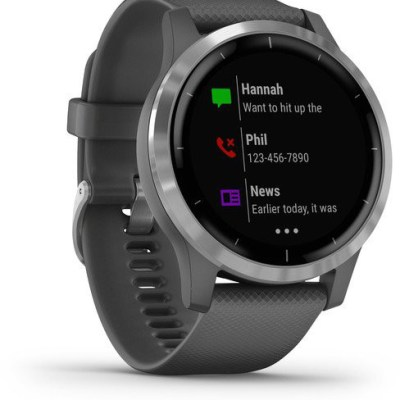 Garmin vivoactive 4, silver/shadow grey