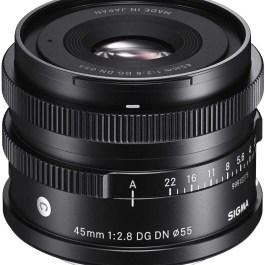 Sigma 45mm f/2.8 DG DN Contemporary objektiiv Sonyle