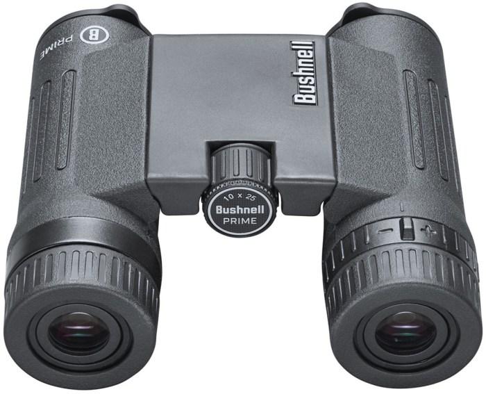 Bushnell binokkel 10×25 Prime, must