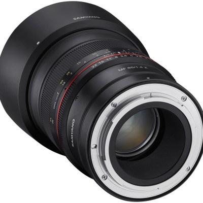 Samyang MF 85mm f/1.4 Z objektiiv Nikonile