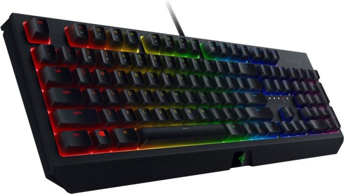 Razer klaviatuur Blackwidow 2019 NO Green Switches