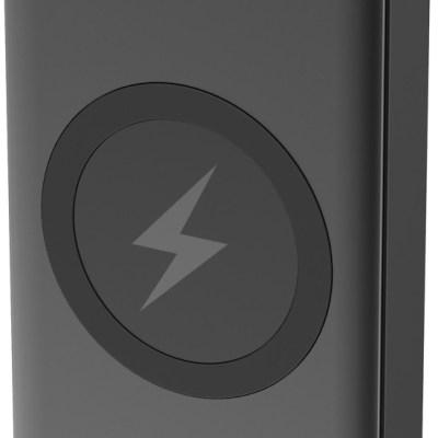 Platinet akupank 10000mAh 2xUSB/1xUSB-C Wireless QI, must (44570)