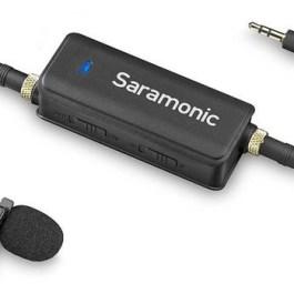 Saramonic mikrofon + helimikser LavMic