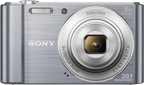 Sony DSC-W810, hõbedane