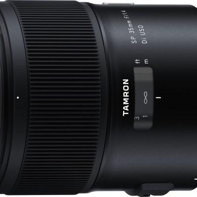 Tamron SP 35mm f/1.4 Di USD objektiiv Canonile