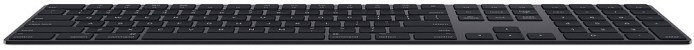 Apple klaviatuur + numbriklaviatuur Magic Keyboard RUS, space grey
