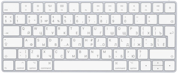 Apple Magic Keyboard RUS, valge