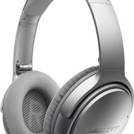Bose juhtmevabad kõrvaklapid + mikrofon QuietComfort 35 II, hõbedane