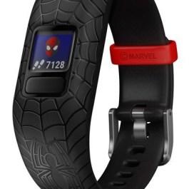 Garmin aktiivsusmonitor Vivofit Jr.2 Spider-Man, must reguleeritav