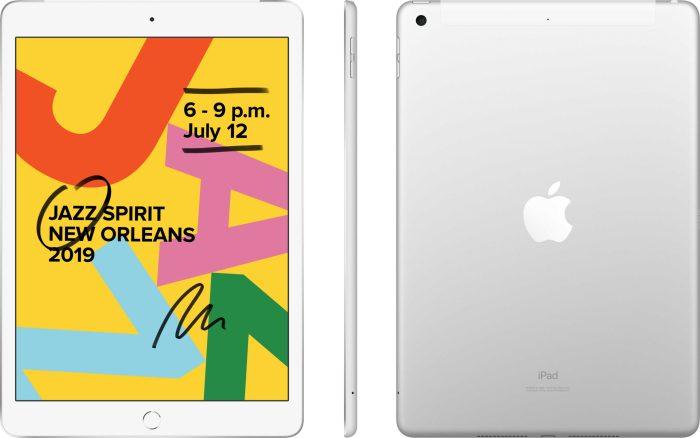 Apple iPad 10,2″ 32GB WiFi + 4G, silver (2019)