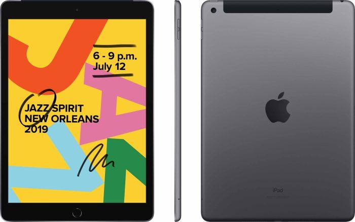 Apple iPad 10,2″ 32GB WiFi + 4G, space grey (2019)
