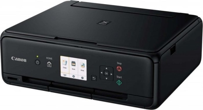 Canon tindiprinter PIXMA TS5055, must + fotopaber PP-201