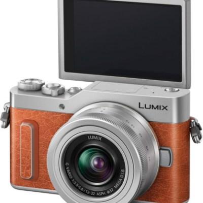 Panasonic Lumix DC-GX880 + 12-32mm Kit, oranž