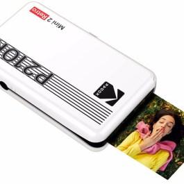 Kodak fotoprinter Mini 2 Plus Retro, valge