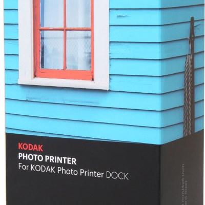 Kodak fotopaber + tindikassett Dock 4×6″ 80 lehte